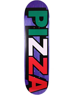 Pizza Logo Team Deck - 8.375