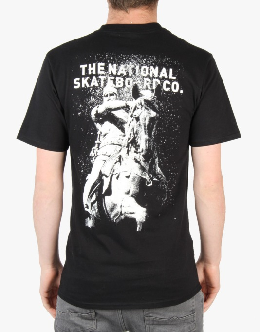 The National Skateboard Co. Black Prince T-Shirt - Black