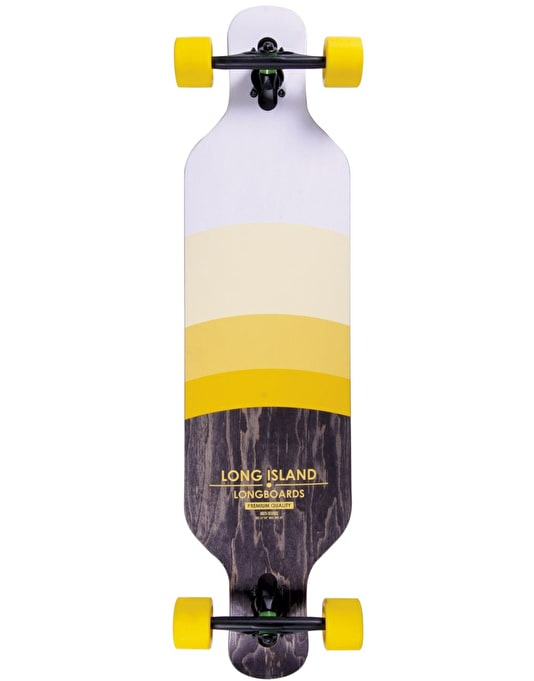"Long Island Degrade Drop Through Longboard - 40.86"" x 9.94"""