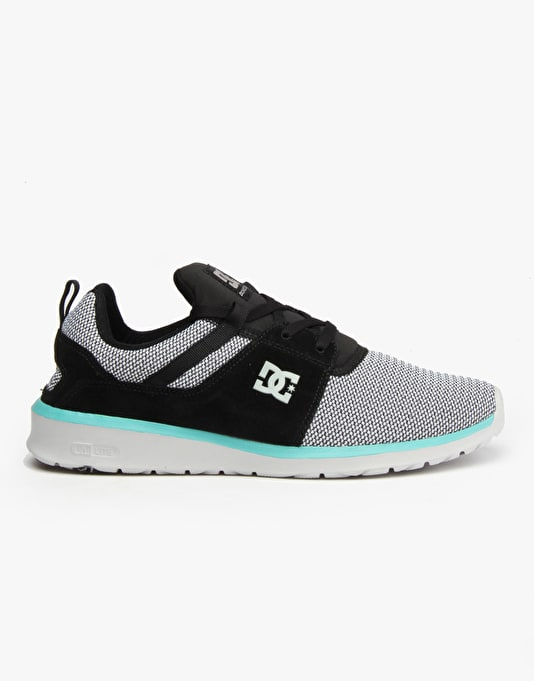 DC Heathrow Skate Shoes - Grey/Black/Green