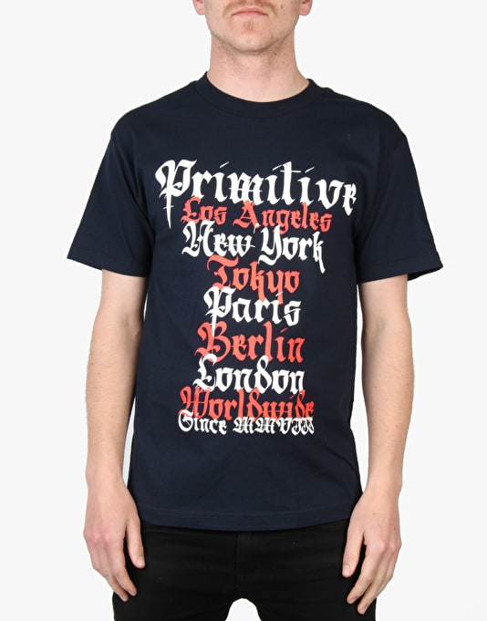 Primitive Old World T-Shirt - Navy