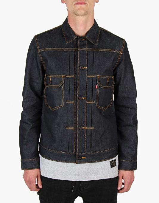 Levi's Skateboarding Type 2 Trucker Jacket - Rigid Indigo
