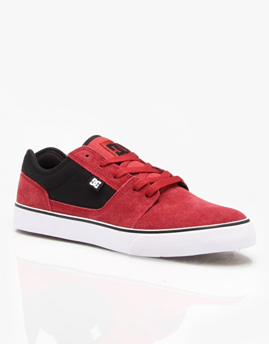 DC Tonik Skate Shoes - Dark Red