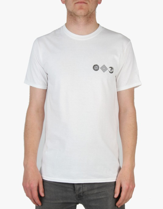 The National Skateboard Co. Serpent T-Shirt - White