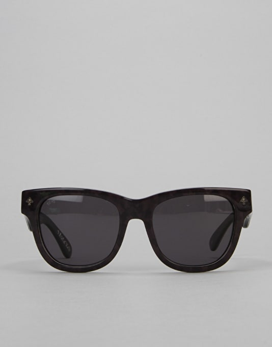 LRG Research Icon Sunglasses - Black Camo/Grey Marble