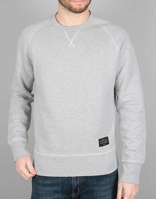 Levi's Skateboarding Crewneck Fleece - Grey Heather