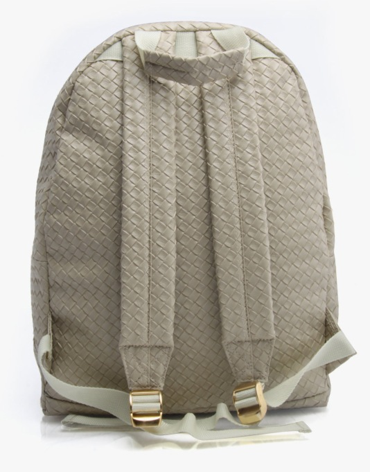 Mi-Pac Gold Woven Backpack - Taupe