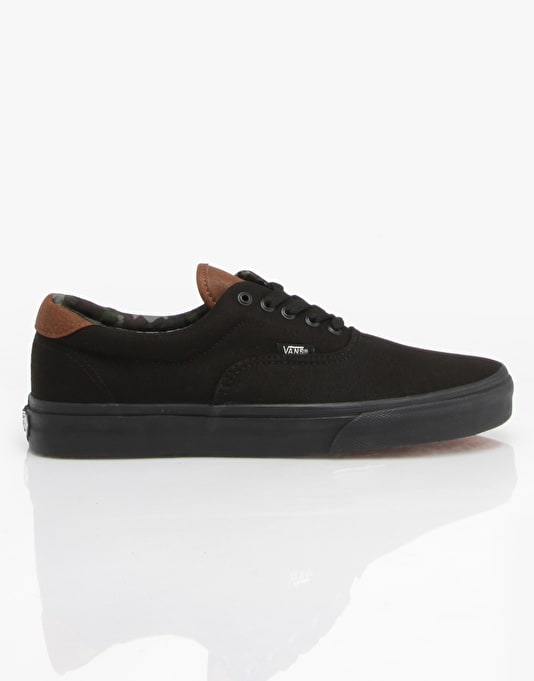 Vans Era 59 Skate Shoes - (C&L) Black/Black/Camo