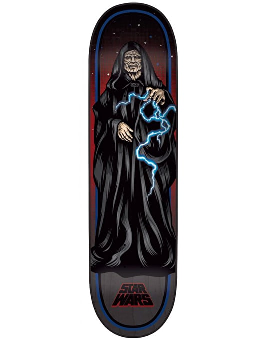 Santa Cruz x Star Wars The Emperor Collectible Deck - 8.375""