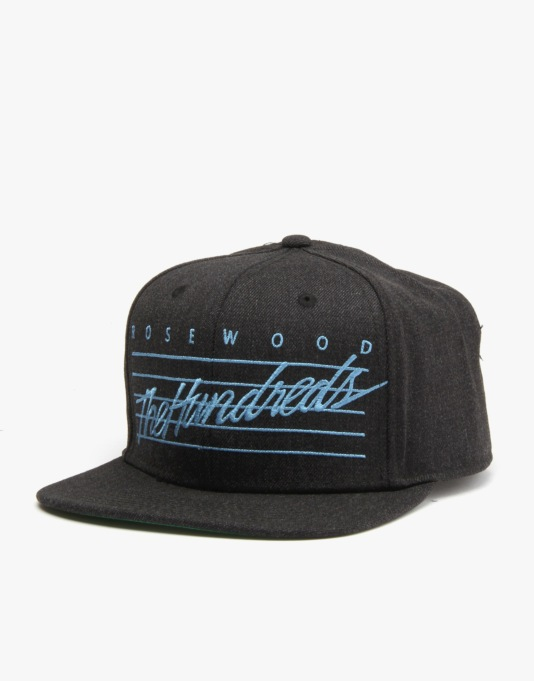 The Hundreds Daze Snapback Cap - Black