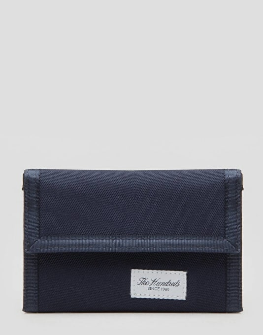 The Hundreds Pass Tri-Fold Wallet - Navy