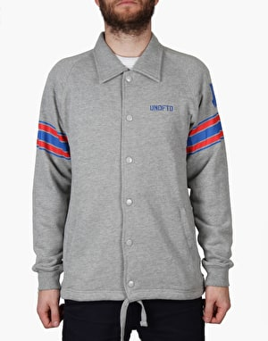 Undefeated Pro Set Coach Jacket - Grey Heather