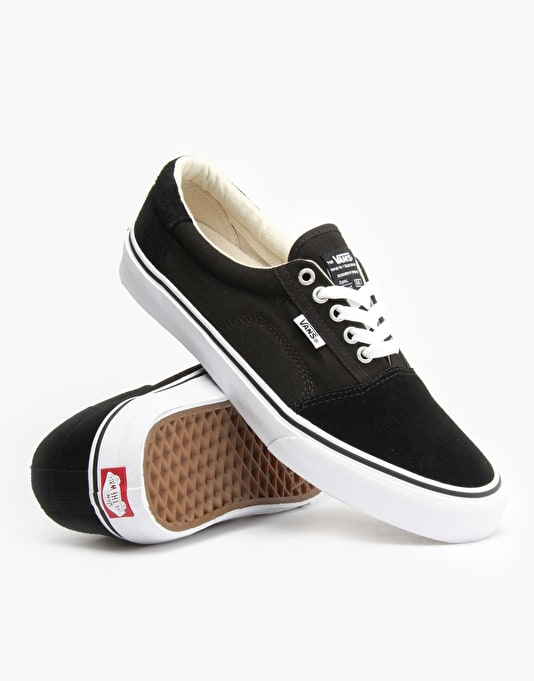 Vans Rowley Solos Pro Skate Shoes - Black/White