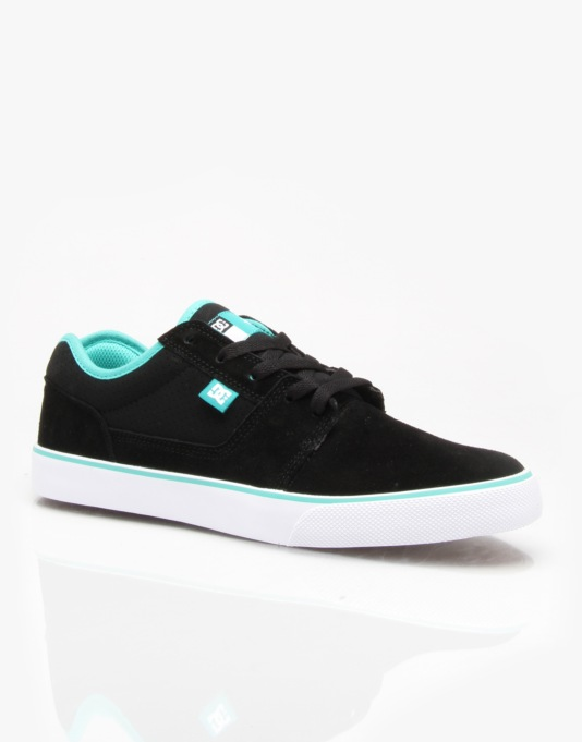 DC Tonik S Skate Shoes - Black/Turquoise