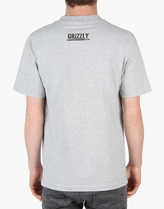 Diamond Supply Co. x Grizzly Banner T-Shirt - Heather