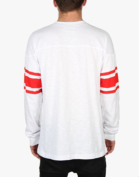 Diamond Supply Co. Un-Polo Football Top - White