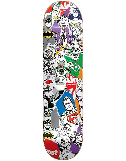 Almost x DC Comics Justice League Team Deck - 8.25""