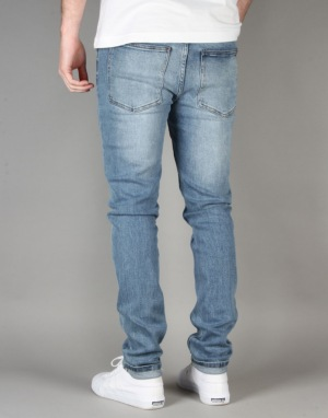 Cheap Monday Tight Skinny Jeans - Stonewash Blue
