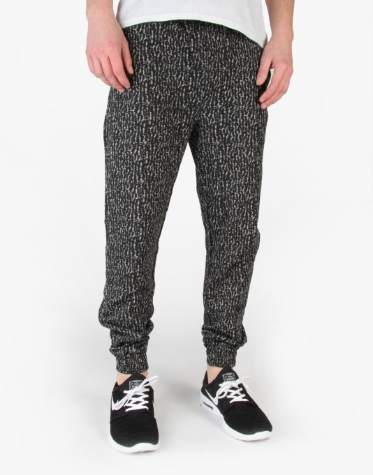 Globe Barkly Track Pants - Black/White