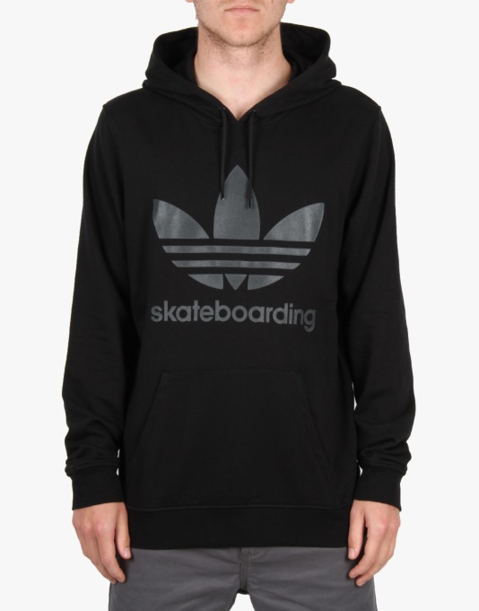 Adidas ADV Pullover Hoodie - Black/Carbon