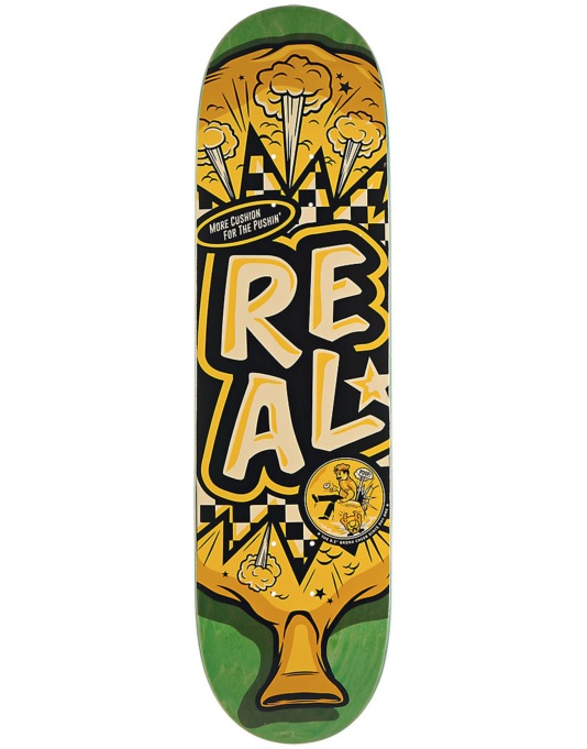 Real Whoopie Skateboarding Team Deck - 8.5""