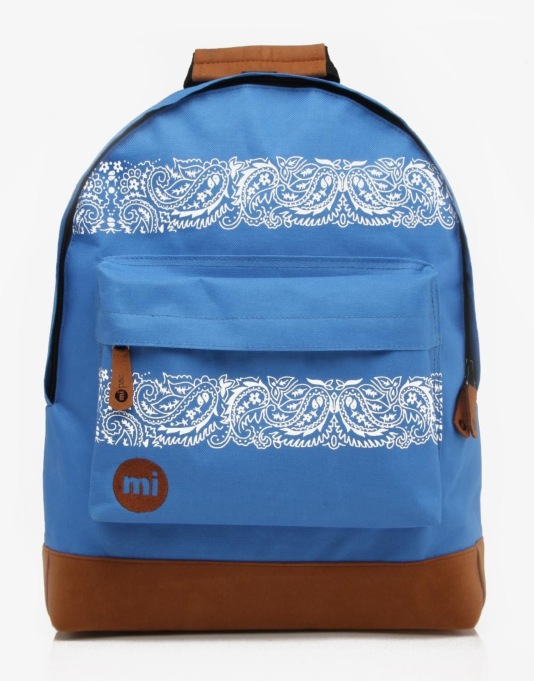 Mi-Pac Bandana Backpack - Royal Blue