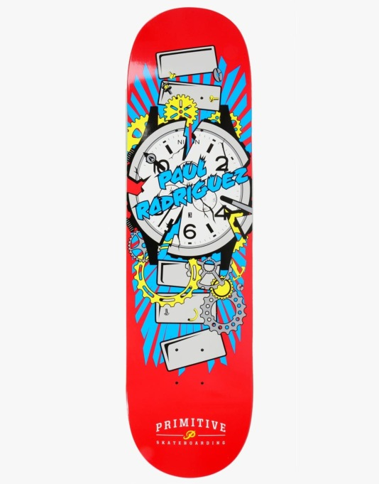 Primitive x Nixon R1 UK Exclusive P-Rod Times Up Pro Deck - 8.25""