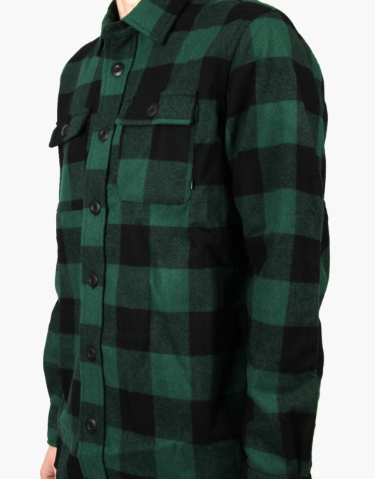 Nike SB Buffalo Plaid L/S Shirt - Gorge Green