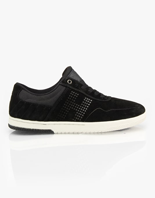 HUF 2 Skate Shoes - Black/Bone White
