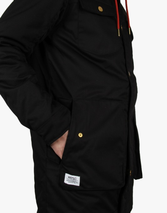 WeSC Jaxon Jacket - Black