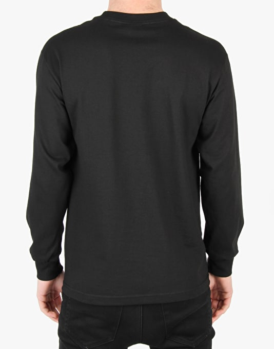 Crooks & Castles Ronin Squad LS T-Shirt - Black