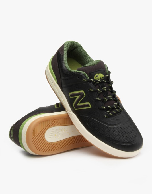 New Balance Numeric Logan 637 Skate Shoes - (Brown) Asphalt-Synthetic