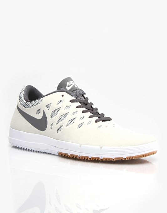 Nike SB Free Skate Shoes - Sail/Cool Grey/White