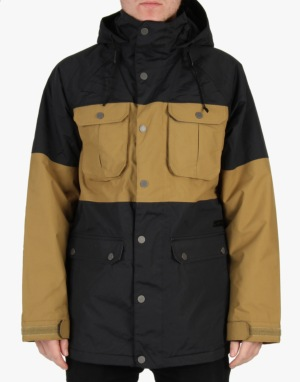 Burton Frontier 2015 Snowboard Jacket - True Black/Falcon