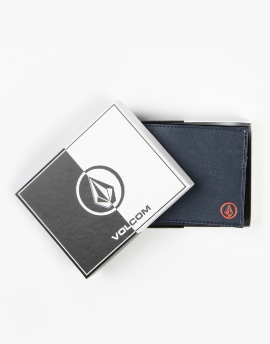Volcom Corps Small Wallet - Navy