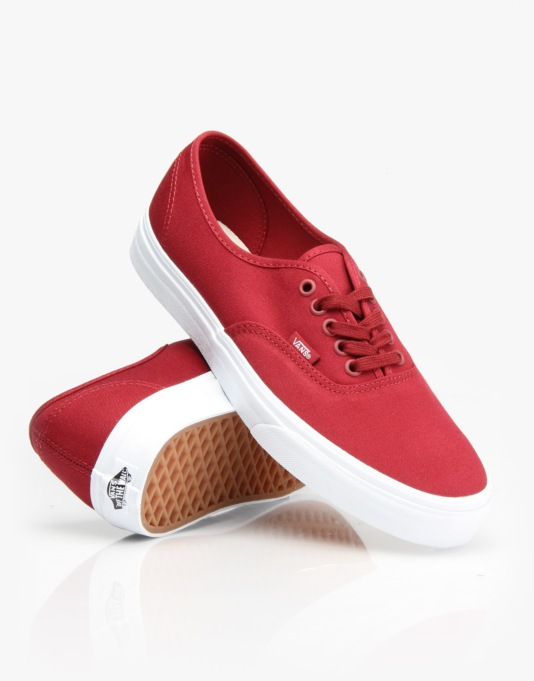 Vans Authentic Shoes - (Mono) Sun Dried Tomato