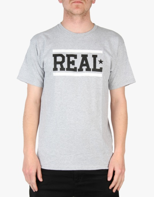 Real Bar T-Shirt - Athletic Heather