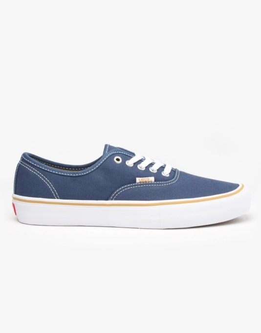 Vans x Anti Hero Authentic Pro Skate Shoes - Blue/Stranger