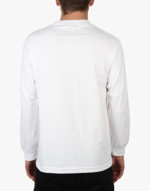 Enjoi Whitey Panda L/S T-Shirt - White