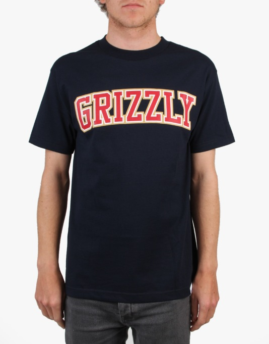 Grizzly The Freshman T-Shirt - Navy