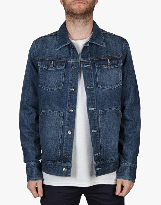 The Hundreds Park Jacket - Indigo