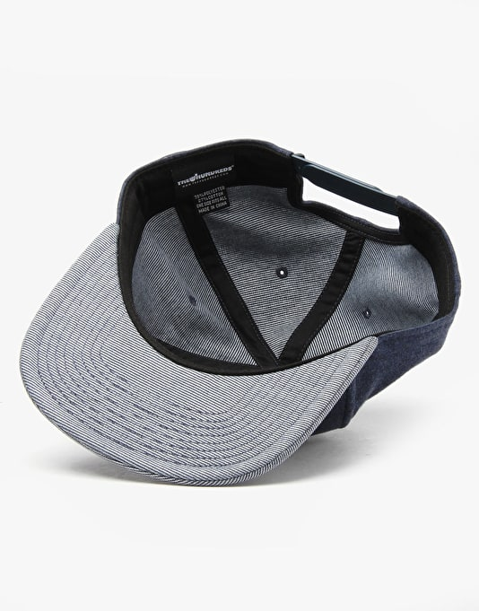 The Hundreds Slant Snapback Cap - Navy