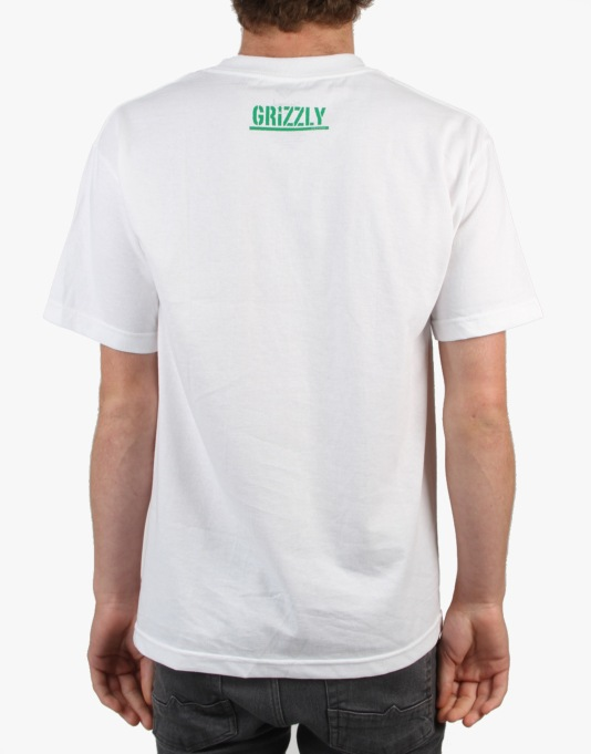 Grizzly Territory T-Shrit - White