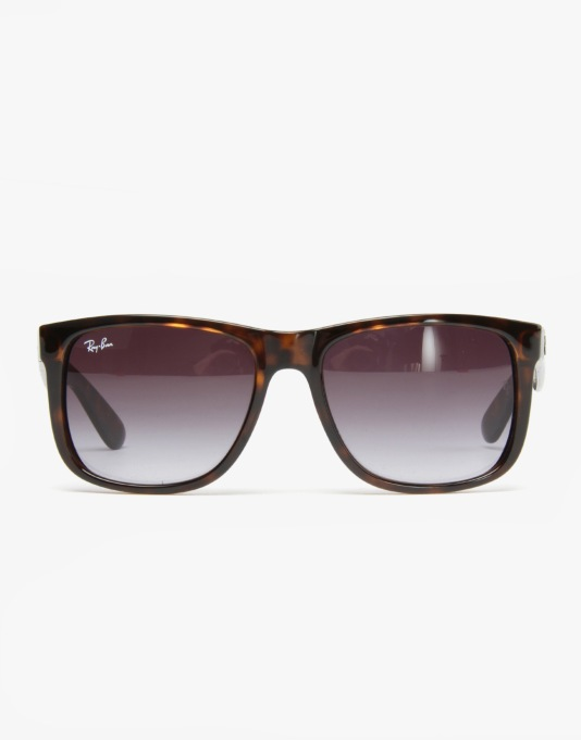 Ray-Ban Justin Sunglasses - Shiny Havana RB4165 710/8G 55