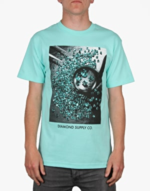 Diamond Supply Co. Gem Quality T-Shirt - Diamond Blue