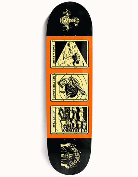 Pass Port Magic Man Easie Team Deck - 8.38""