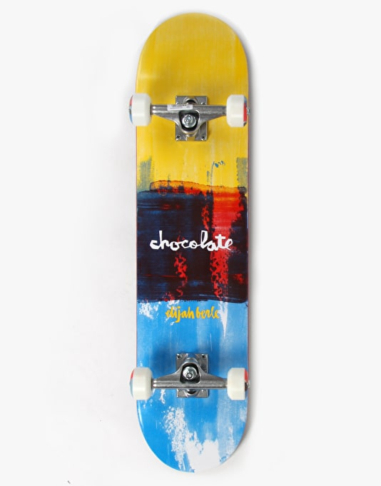 Chocolate Berle Subtle Square Complete Skateboard - 7.5""