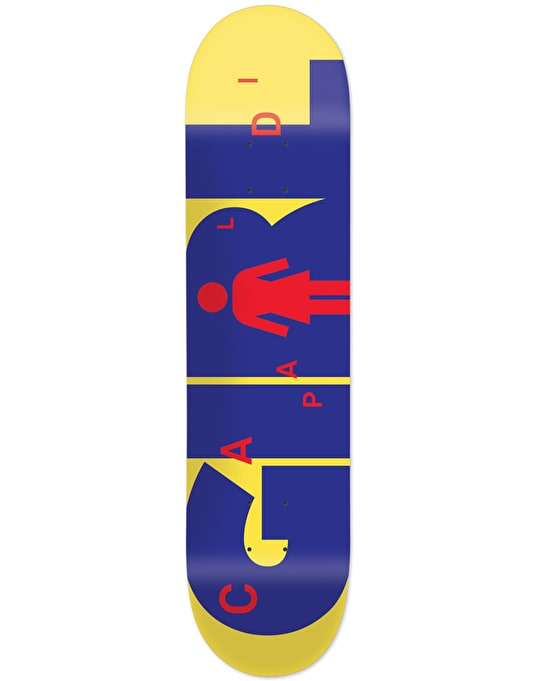 Girl Mike Mo Advertype Pro Deck - 7.75""