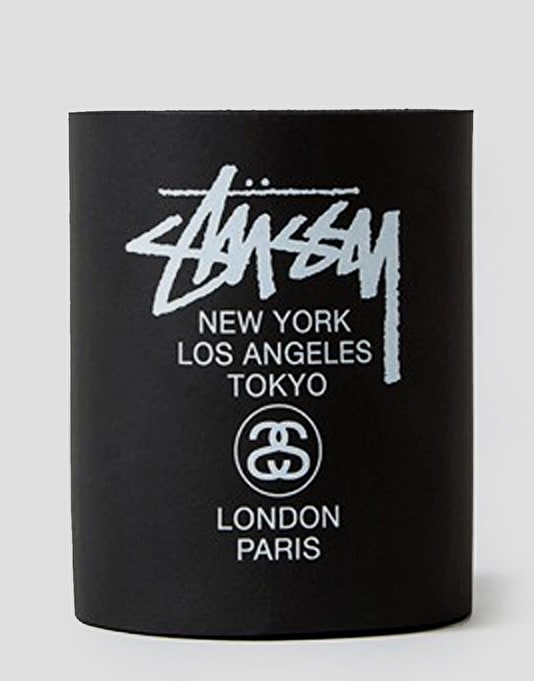 Stüssy World Foam Beer Coozie - Black