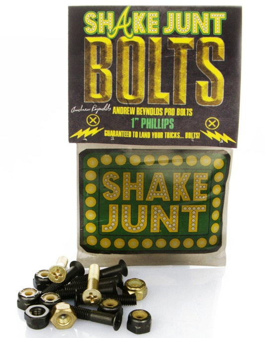 "Shake Junt Reynolds 1"" Pro Phillips Bolts"